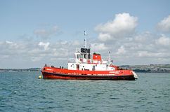 Schlepper, Portsmouth Stockbild