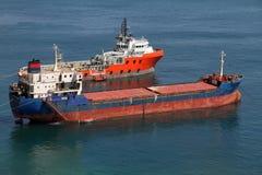 Schlepper und Frachter Lizenzfreies Stockbild