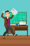 Schüler empfing bestes Kennzeichen Lizenzfreies Stockfoto
