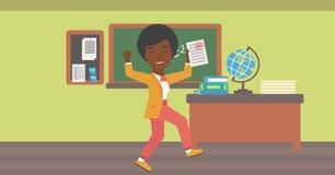 Schüler empfing bestes Kennzeichen Lizenzfreie Stockfotos