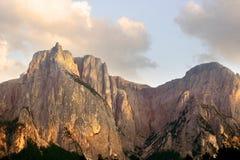 Schlern mountain Royalty Free Stock Photo