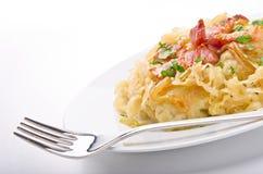 Schlesische Kartoffelmehlklöße Stockbild