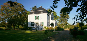Schleswig Holstein Mansion Stock Photo