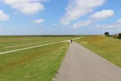 The Schleswig-Holstein National Park, Northern Germany. Stock Photography