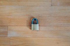 Schließen Sie als Symbol für Privatleben-und allgemeine Daten-Schutz-Regelung zu Stockbilder