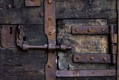 Schließen Sie die Tür Lizenzfreie Stockfotografie