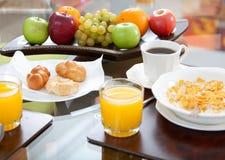 Schließen Sie gesundes Frühstück ab Lizenzfreie Stockfotografie