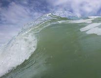 Schließen Sie herauf Abschnitt des Wellenbrechens Stockbilder