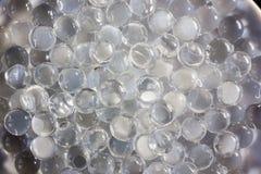 Schließen Sie herauf Ansicht von Hydrogelbällen Lizenzfreies Stockfoto