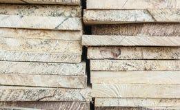 schließen Sie herauf Bauholzabschnitt Stockbilder