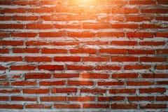 Schließen Sie herauf Bild und Weinleseart auf alter Backsteinmauer, alte Beschaffenheit Lizenzfreie Stockfotografie