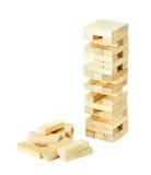 Schließen Sie herauf Blockholzspiel Stockbild