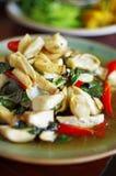 Schließen Sie herauf chinesisches vegetarisches Lebensmittel vom Pilz Lizenzfreie Stockbilder