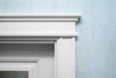 Schließen Sie herauf ein Element des door& x27; s-Formteil Stockfoto