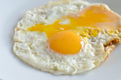 Schließen Sie herauf Fried Eggs Stockbild