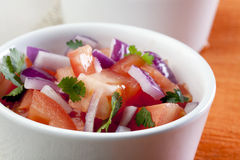 Schließen Sie herauf frische Salsa Lizenzfreies Stockbild