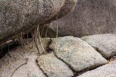 Schließen Sie herauf großen Stein in Thailand Lizenzfreies Stockbild