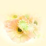 Schließen Sie herauf helle die Plastikblumenfarbe Lizenzfreie Stockfotos
