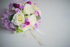 Schließen Sie herauf künstliche Blume Stockfotos