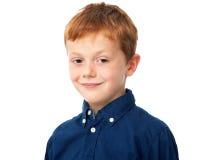 Schließen Sie herauf Kindportrait Lizenzfreie Stockfotografie