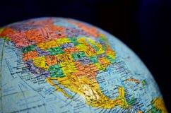 Schließen Sie herauf Kugel der Welt Lizenzfreie Stockfotografie