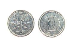 Schließen Sie herauf Münze Lizenzfreie Stockfotografie