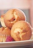 Schließen Sie herauf Muffin stockfotografie