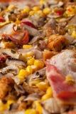 Schließen Sie herauf Pizza Lizenzfreie Stockfotos