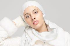 Schließen Sie herauf Porträt auf Schönheitsgesicht Lizenzfreie Stockbilder