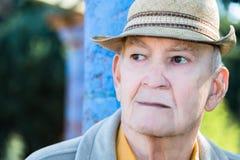 Porträt-ernster reifer Mann Stockfotografie