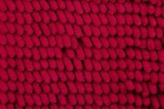 Schließen Sie herauf rote Farbe des Fußschabers Lizenzfreies Stockbild