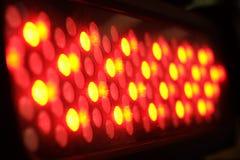 Schließen Sie herauf rotes Licht Lizenzfreie Stockfotos