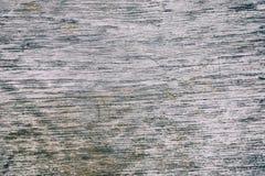 Schließen Sie herauf rustikale hölzerne Tabelle mit Korngefüge in der Weinleseart Oberfläche der alten hölzernen Planke im Makrok lizenzfreies stockfoto