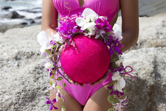 Schließen Sie herauf schöne Blumen des Porträtblumenstraußes Lizenzfreie Stockfotos