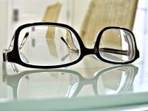 Schließen Sie herauf Schuß der Augengläser lizenzfreie stockfotos