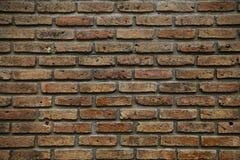 Schließen Sie herauf Schuß Ziegelsteinhintergrund und leerer Bereich für Text Wandziegelstein im Retrostil alter Ziegelstein- ode Lizenzfreie Stockfotos