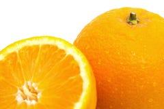 Schließen Sie herauf Schuss von saftigen Mandarinen Stockfoto