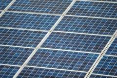 Schließen Sie herauf Sonnenkollektor stockbilder