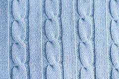Schließen Sie herauf textue von Knit Stockbilder