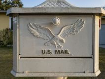 Schließen Sie herauf Trieb eines Briefkastens Lizenzfreies Stockfoto