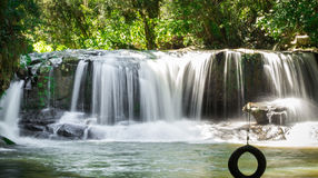 Schließen Sie herauf Wasserfall Lizenzfreie Stockfotos