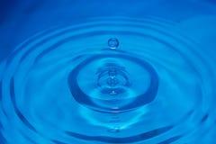 Schließen Sie herauf Wassertropfen Lizenzfreie Stockfotografie