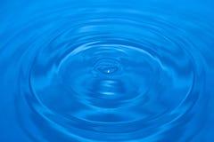Schließen Sie herauf Wassertropfen Lizenzfreies Stockbild