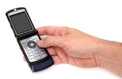 Schließen Sie Ihren Handy Lizenzfreies Stockbild