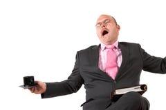 Schließen Sie Langeweile ab Lizenzfreie Stockbilder