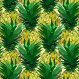 Schließen Sie lowpoly Ananasmuster Lizenzfreies Stockbild