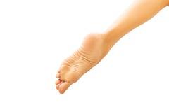 Schließen Sie oben auf den Füßen der Schönheit Stockfoto