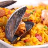 Paella stockfoto