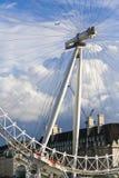 Schließen Sie oben auf London-Auge Stockfotografie