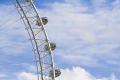 Schließen Sie oben auf London-Auge Stockfotos